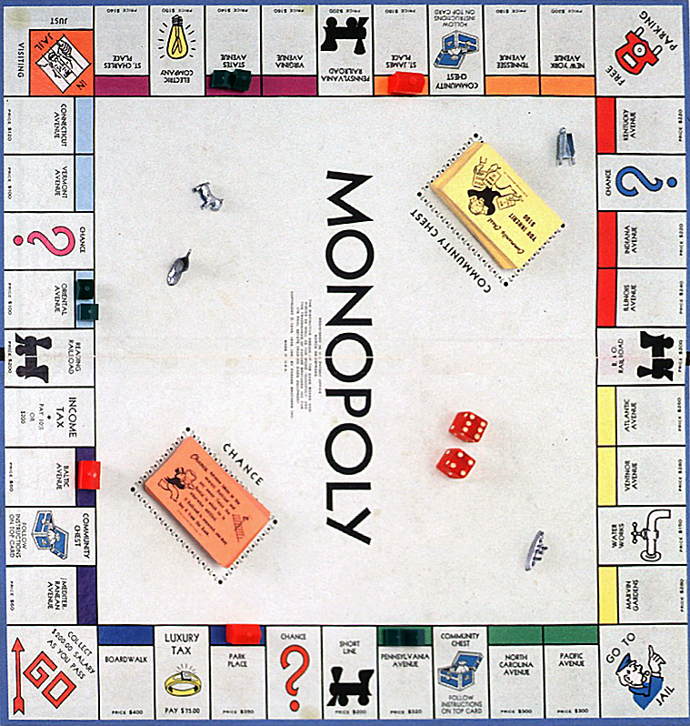 Illinois Avenue Monopoly